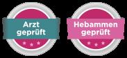 Hebammengeprüft und Gynäkologingeprüft